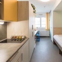 Einzelzimmer (Dusch, WC am Gang) Wolf Dietrich Heim